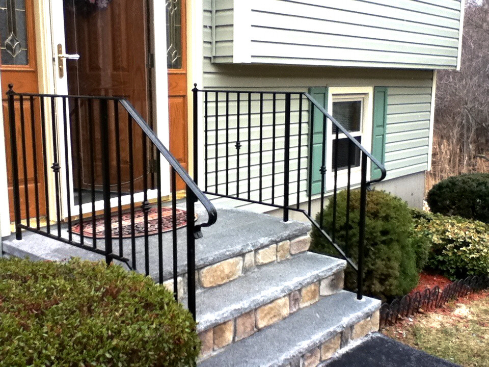 Custom iron railings wrought mill city